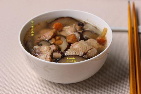 瑶柱的做法,冬进补,瑶柱香菇鸡汤