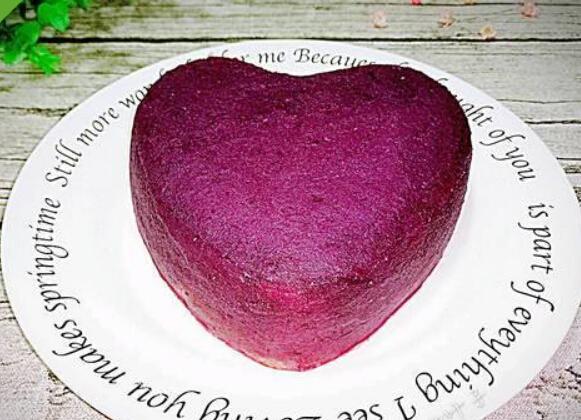 紫薯的做法大全,奶香紫薯蛋糕的做法大全
