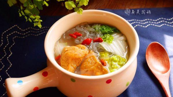 粉丝汤的做法,立冬暖锅-爆鱼粉丝汤