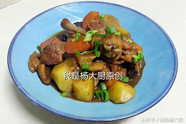 香菇炖鸡的做法,超级简单又下饭的家常菜:香菇炖鸡