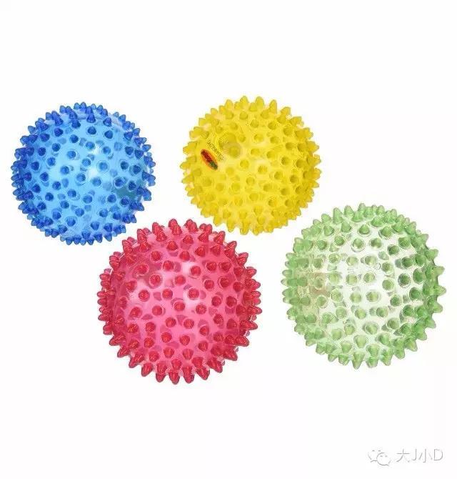 婴儿球,在家准备这三种球,0~3岁孩子的发展不用愁