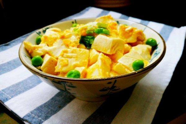 蟹黄豆腐的做法,以假乱真的蟹黄豆腐的做法步骤