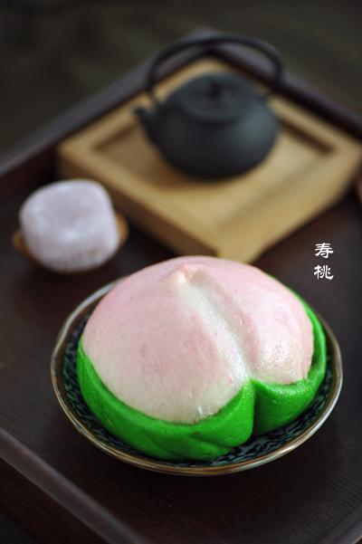 寿桃寓意,多重口敢吃寿桃
