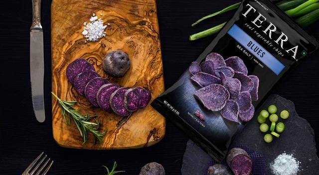 这个欧美明星疯抢,头等舱专供的神秘紫色薯片,竟然可以这么好吃……