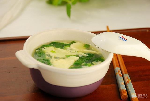 菠菜鸡蛋汤的做法,菠菜鸡蛋汤的做法