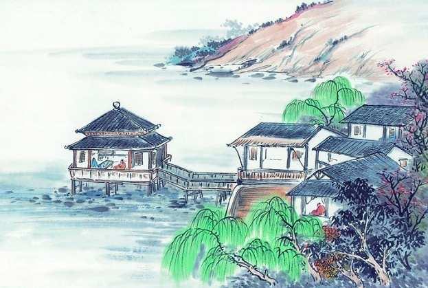 王维的山水诗,王维最经典的一首山水诗,这才是我们该向往的生活!