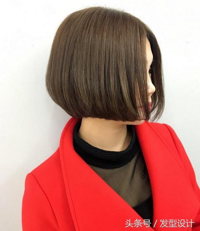 波波头短发发型图片,秋天精选波波短发45款