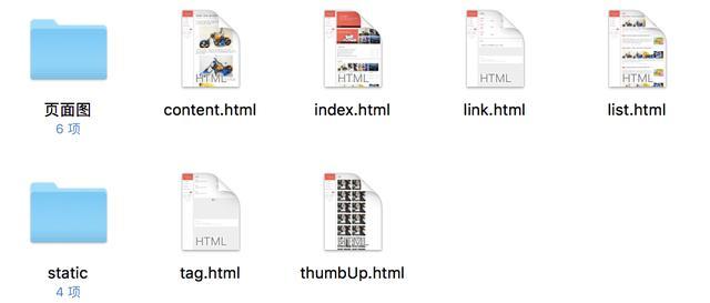 html网页模板下载,三栏纵向个人博客模板Html(提供多页面下载)