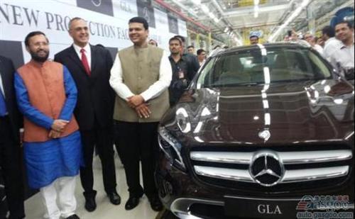 奔驰印度恰坎工厂投产GLA 上半年销量或登顶