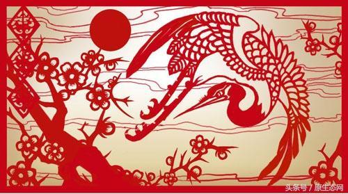 窗花寓意,中国民间剪纸的象征意义