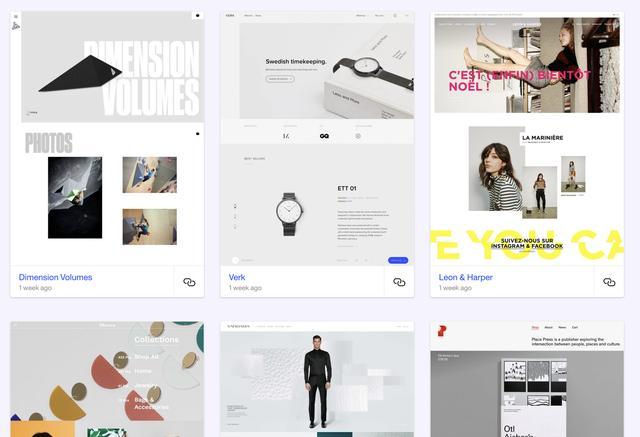 网页设计模板,分享给网页设计师精心挑选的网页设计资源