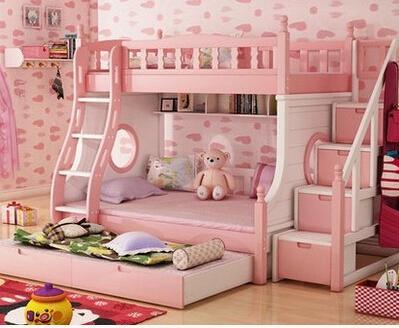 婴儿铁床,一张儿童床,也可以给孩子缔造一个梦幻王国