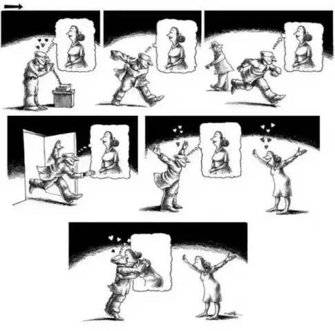 内涵漫画系列,极具内涵的几则漫画,你能看懂吗?