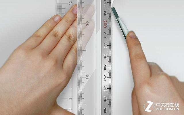 尺子图片,剪裁更安全 居家必备的新式多用尺子