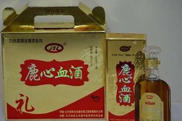 鹿血的吃法,鹿心血酒一次喝多少 鹿心血酒最佳饮用量