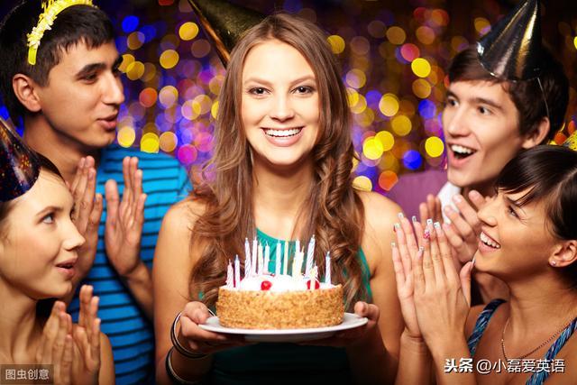 英文生日祝福语,单词文化:birthday