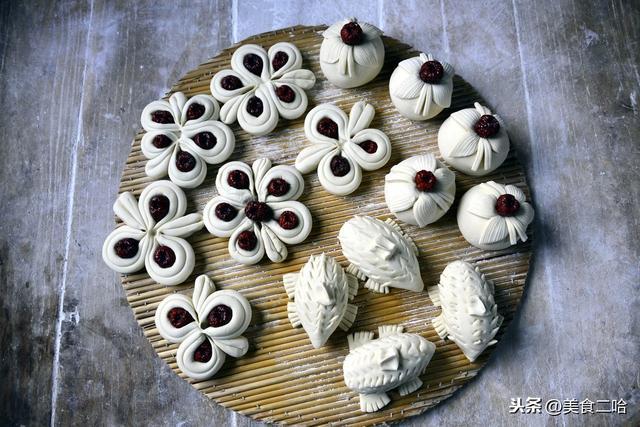 枣花馍的各种做法,过年家家户户都要蒸的枣花馍,按照这做法做个新造型,好看更好吃