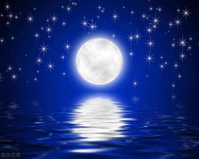 关于太阳的诗句,举头一轮明月,低头千里故乡——赏读明月诗词