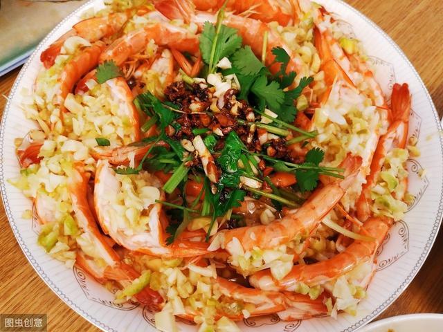 蒜蓉虾的做法,蒜蓉虾的做法