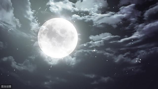 月的诗句,骆宾王8岁写下一首咏月诗,比《咏鹅》更具哲理,获得满堂喝彩