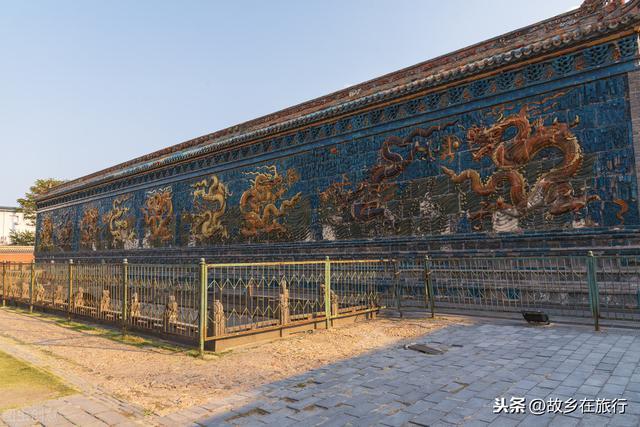 九龙壁简介,中国三大九龙壁之首,免费游大同九龙壁