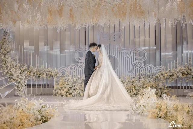 白色寓意,以白色系为主的现代轻奢风婚礼