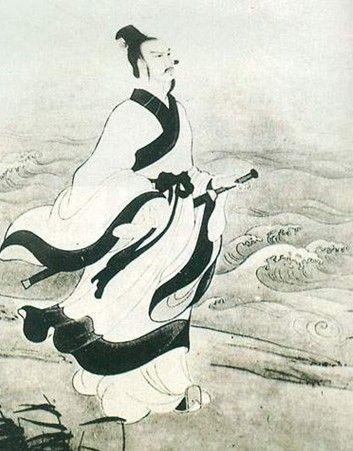 屈原写的诗,文化散文:屈原,面向风雨的歌者