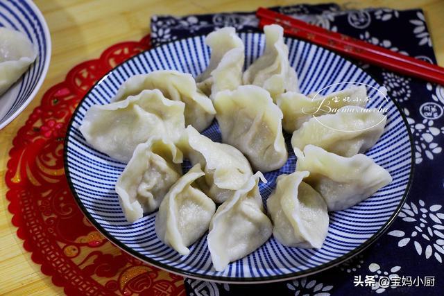三鲜饺子馅的做法,定了,年三十的饺子就吃这馅!食材三样百财来,味道鲜美全家喜爱