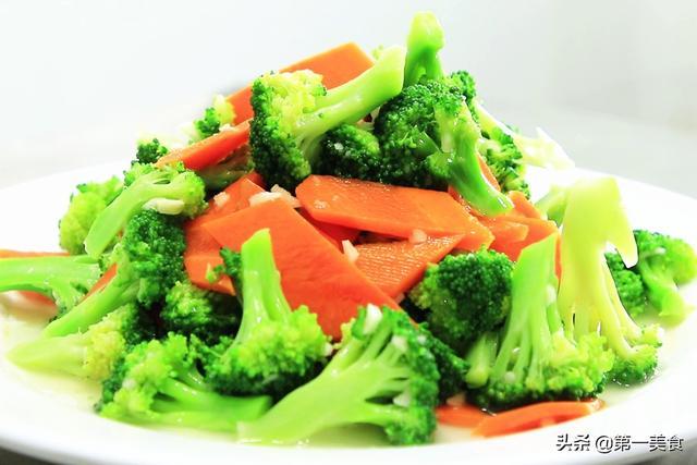 胡萝卜的吃法,炒西兰花、最忌直接下锅炒和焯水!学会1招,西兰花爽脆又入味
