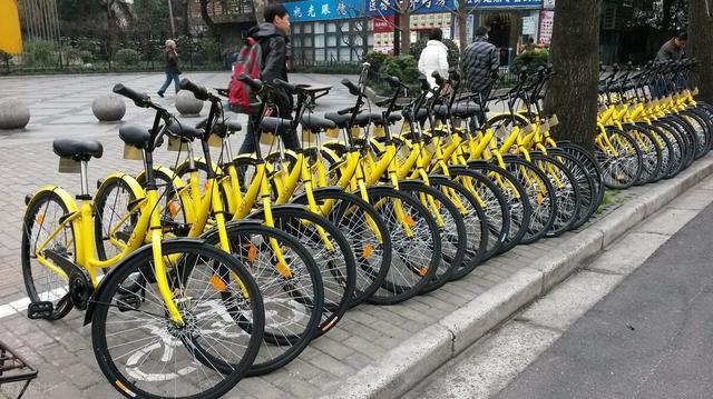 以共享自行车和共享充电为主导的共享经济模式不断价格上涨