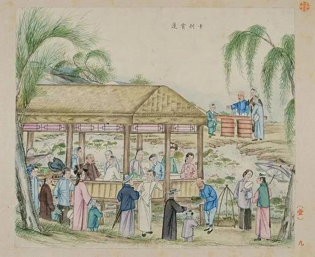 并蒂莲的象征意义,莲诞之日:灵辰廿四祝年年,持赐瑶池并蒂莲