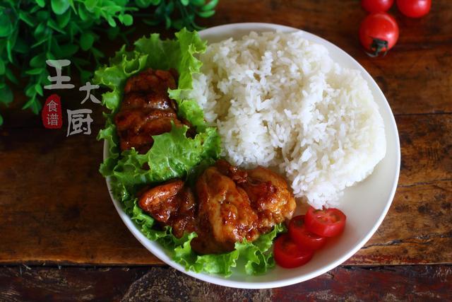鸡腿饭的做法,照烧鸡腿饭,学会这个做法,自己做在家做就好了,味道超级好