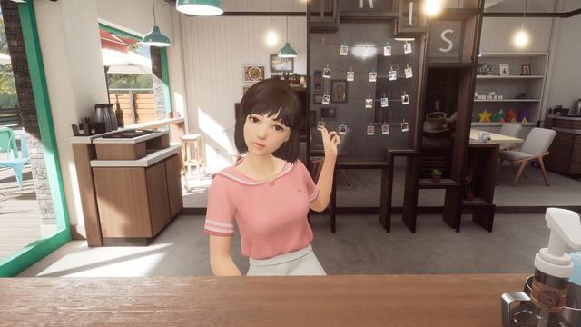 vr美女,穿越火线开发商为PS4推出VR美女拍照游戏《关注你》