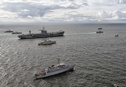 美军舰赴俄家门口军演,俄当即将演习海域划为禁航区:误击不负责