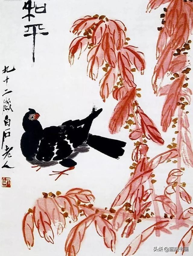 花鸟寓意,中国花鸟画玄妙深奥,诸多画家对其赋予寓意,想象力奇妙无穷