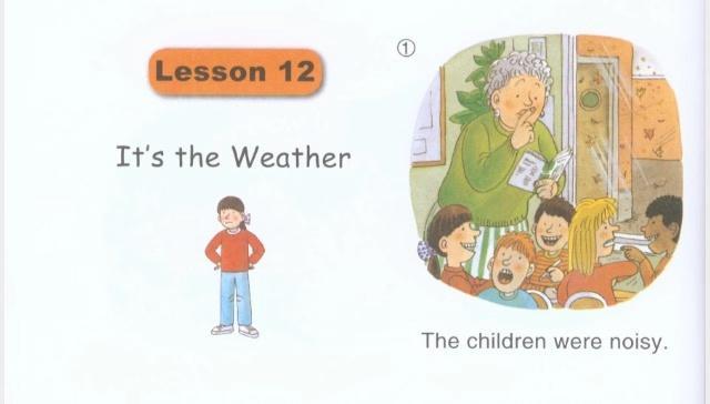 1级绘本B级Lesson 12:孩子们在学校里闹翻天了吗?