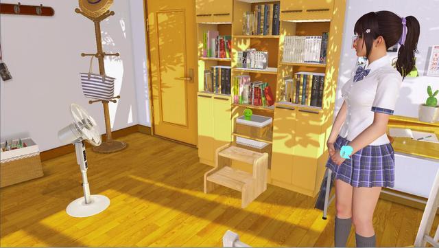 vr 福利,宅男们的福利来啦《VR女友》这是一款为宅男们研发的虚拟女友游戏