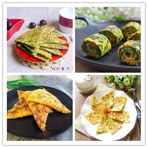 鸡蛋饼的家常做法,开学了!10种早餐鸡蛋饼的做法,不用早起,全家都吃好