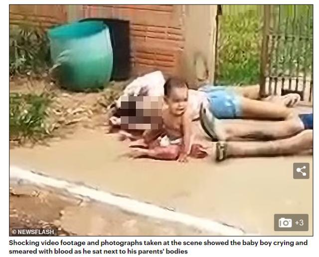 毒贩寻仇?巴西年轻夫妇刚下车就被射杀,10个月大儿子坐在血泊中哭泣 全球新闻风头榜 第1张