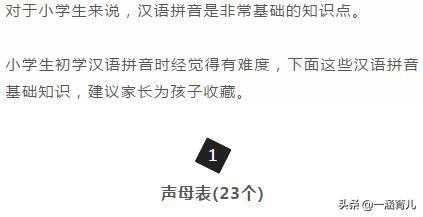 小学拼音,拼音学不好很难记?小学汉语拼音的拼读及书写规则,提前收藏