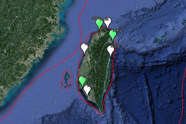 台湾有哪些,台湾省著名的7座国际商业港口,都有哪些特殊之处?你了解多少?
