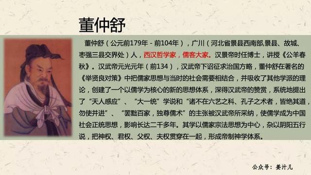 """名人的勤奋故事,素材人物""""董仲舒"""":勤学"""