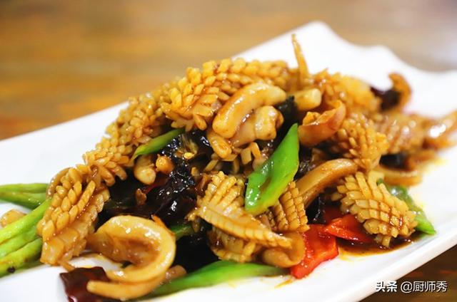 鱿鱼的做法大全家常,鱿鱼的家常做法,鲜辣开胃,制作简单,学会这个方法,秒变大厨