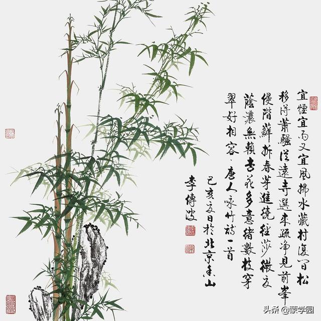 劲的诗,五月知竹,人生知足,50首经典咏竹诗词送给大家