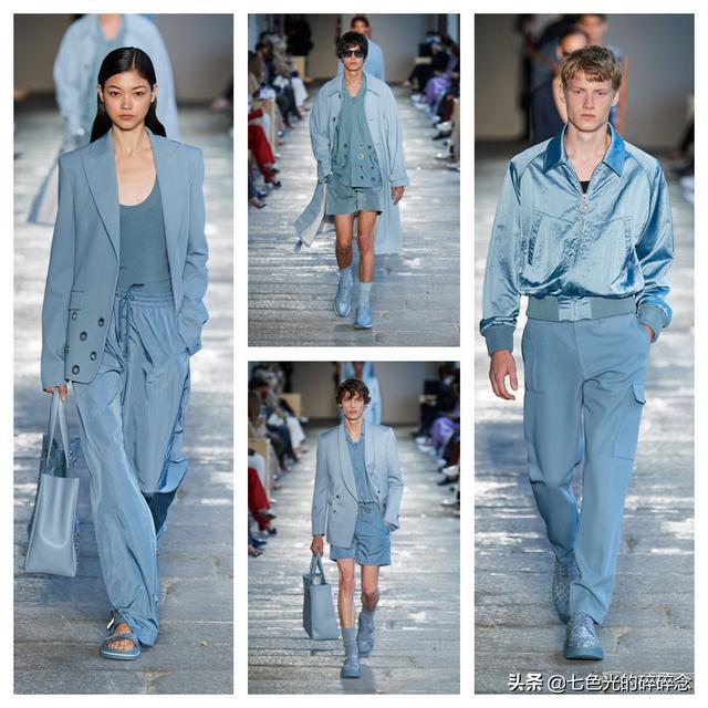 蓝色 寓意,服装色彩的蕴意——蓝色
