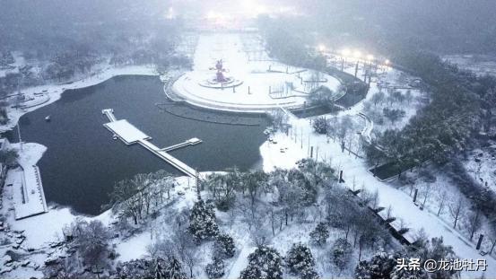 遇事不求人打一成语,2021年第一场雪,下的很认真,这个元宵节,爱在龙池牡丹
