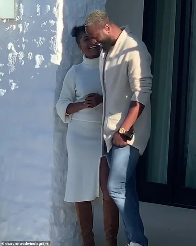 雅思敏,NBA韦德39岁生日,妻子送64万豪车,儿子变女生后越发美丽