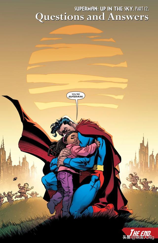DC漫画,从DC漫画《超人:云天之上》看超人的救赎与自我救赎