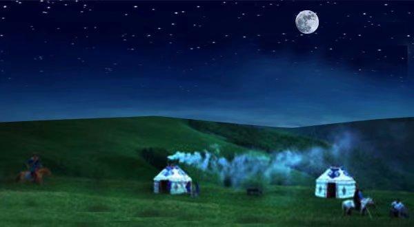 赞美草原的短句,鹧鸪天四首.咏草原系列