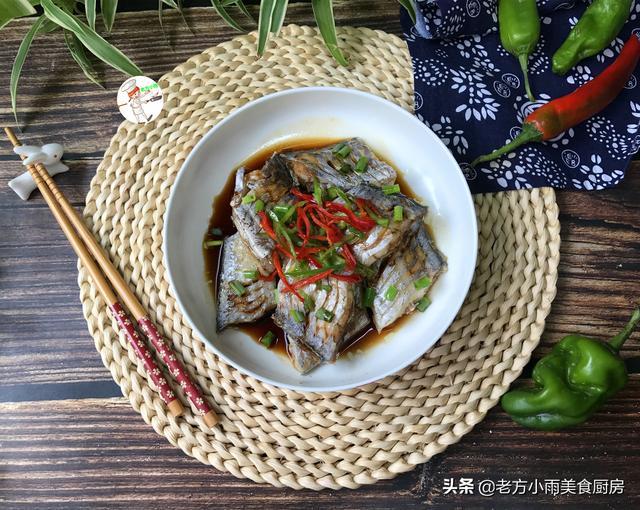 带鱼怎么做好吃又简单,带鱼最简单的做法,蒸一蒸8分钟上桌,原汁原味,又鲜又营养真香